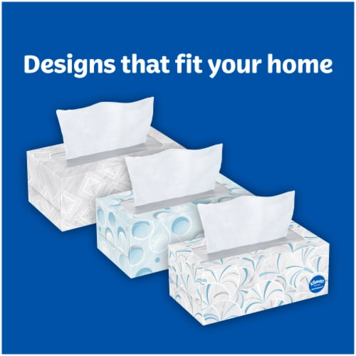 Kleenex® Trusted Care Everyday Facial Tissues Perspective: back