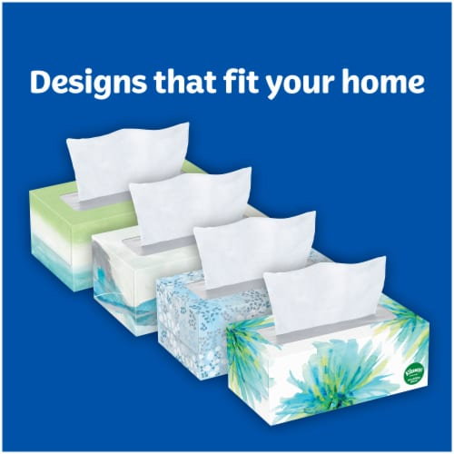 Kleenex Soothing Lotion Facial Tissues Perspective: back