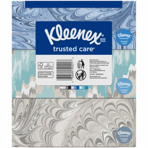 Kleenex Trusted Care Everyday Tissues Perspective: back