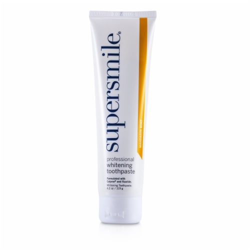 Professional Whitening Toothpaste - Mandarin Mint Perspective: back