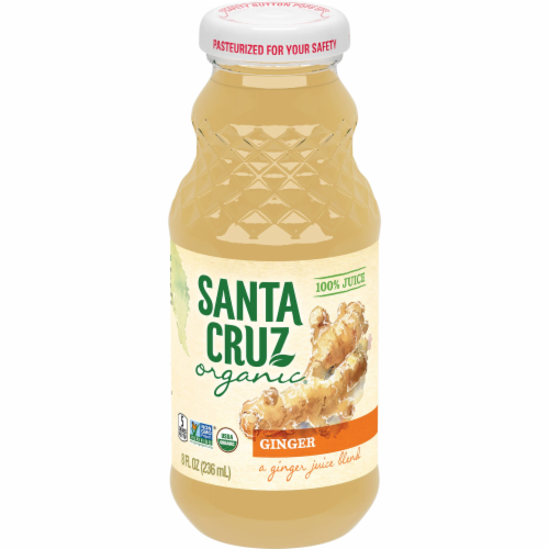 Santa Cruz Organic Ginger Juice Blend Perspective: back