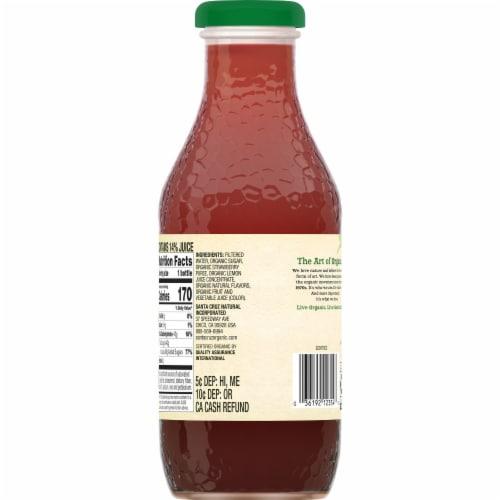 Santa Cruz Organic Strawberry Lemonade Perspective: back