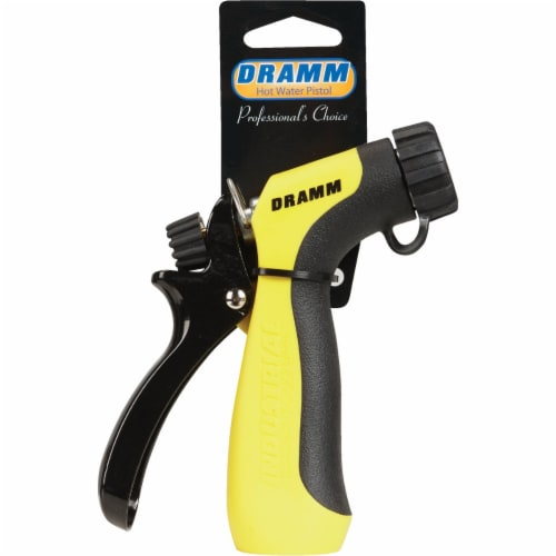 Dramm 136455 Dramm Hot Water Pistol, Yellow Perspective: back
