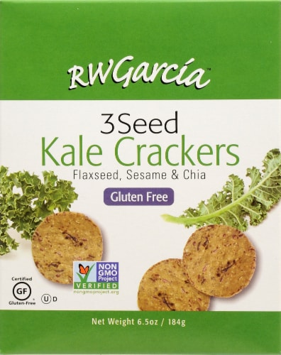 R.W. Garcia 3 Seed Kale Crackers Perspective: back
