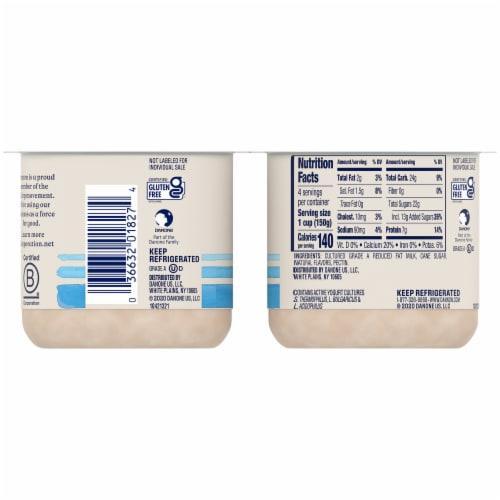 Dannon® Coffee Flavored Lowfat Yogurt Perspective: back