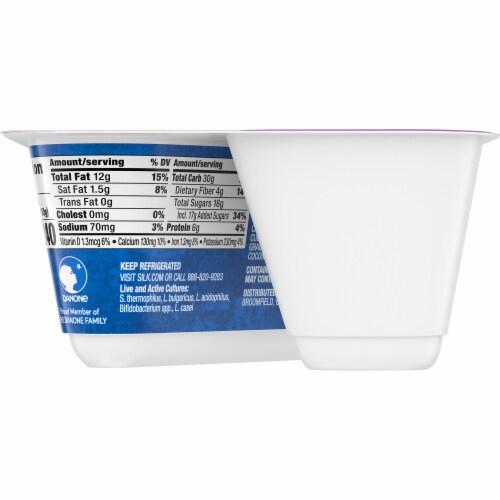 Silk Mixed Berry Chia Granola Almondmilk Yogurt Alternative Perspective: back