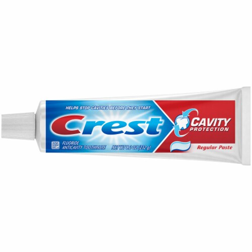 Crest Cavity Protection Toothpaste Perspective: back