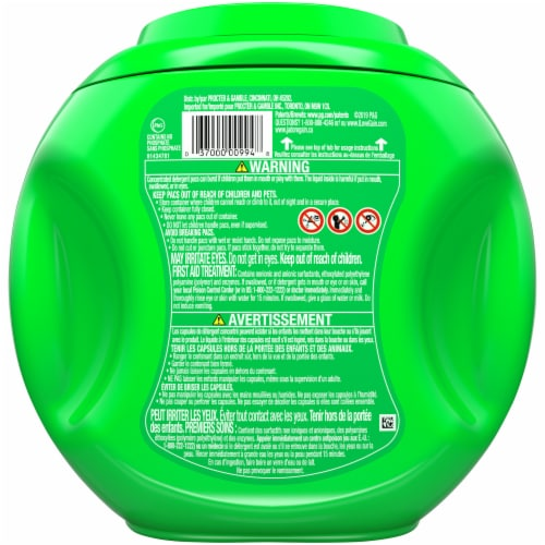 Gain Flings! Original Scent 3-in-1 with Febreze Freshness Laundry Detergent Pacs Perspective: back