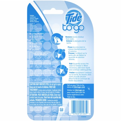 Tide To Go Instant Stain Remover Laundry Pen Perspective: back