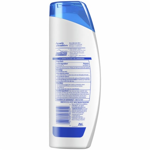 Head & Shoulders Dry Scalp Care Almond Oil Infused 2-in-1 Anti-Dandruff Shampoo + Conditioner Perspective: back