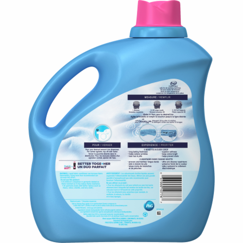 Downy April Fresh Liquid Fabric Conditioner Perspective: back