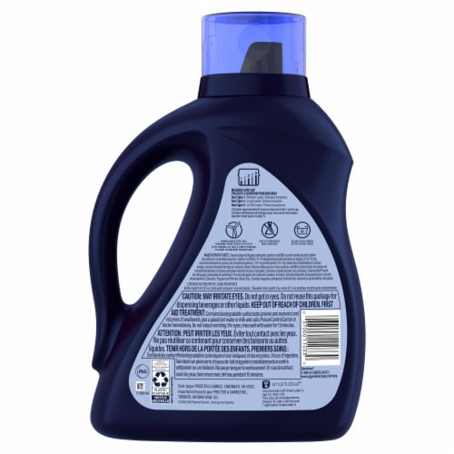 Cheer® Colorguard Fresh Clean Scent Liquid Laundry Detergent Perspective: back