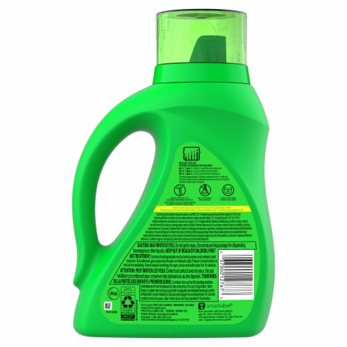 Gain Island Fresh + Aroma Boost Liquid Laundry Detergent Perspective: back
