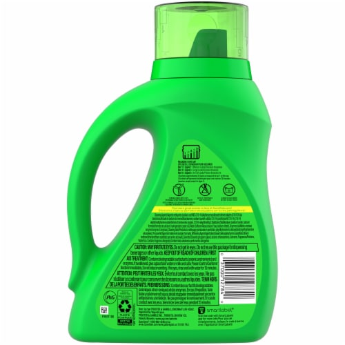 Gain Aroma Boost Original Liquid Laundry Detergent Perspective: back