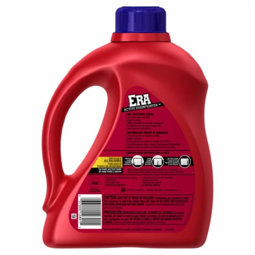 Era Active Stainfighter Liquid Laundry Detergent Perspective: back