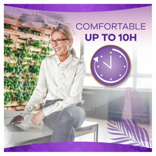 Always Xtra Protection Daily Liners Extra Long Unscented Perspective: back