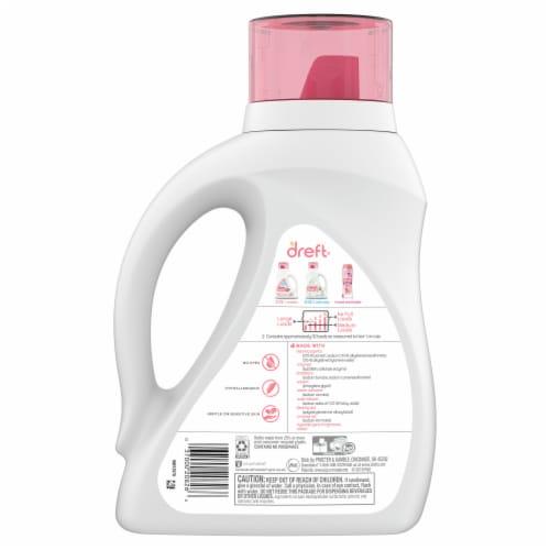 Dreft Stage 1 Newborn Baby Liquid Laundry Detergent Perspective: back