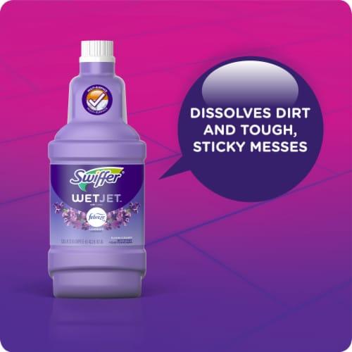 Swiffer® Wet Jet™ with Febreze Freshness Lavender Floor Cleaner Perspective: back