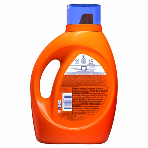 Tide Original Heavy Duty Hygienic Clean Laundry Detergent Liquid Perspective: back
