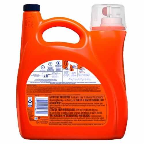 Tide Hygienic Clean Laundry Detergent Liquid 10X Heavy Duty Original Perspective: back