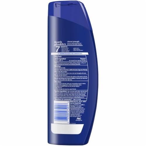 Head & Shoulders Clinical Strength Dandruff Shampoo Perspective: back