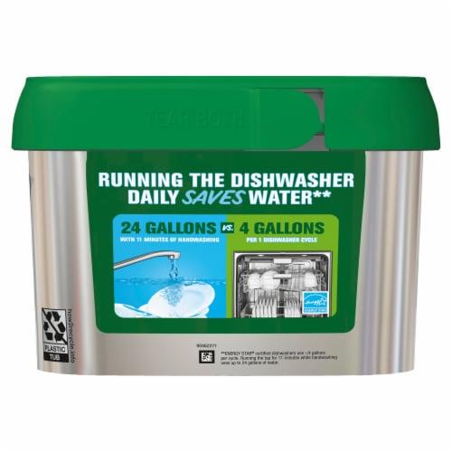 Cascade® Platinum™ Fresh Scent Dishwasher Detergent Actionpacs Perspective: back