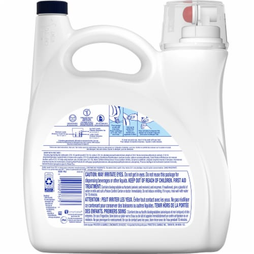 Tide Hygienic Clean Heavy Duty Liquid Laundry Detergent Perspective: back