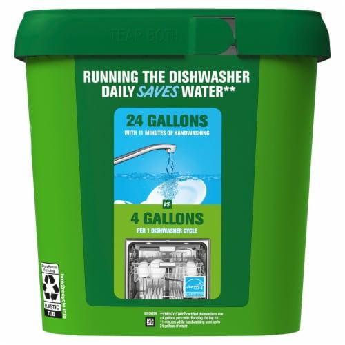 Cascade® Original Fresh Scent Dishwasher Detergent Actionpacs Perspective: back