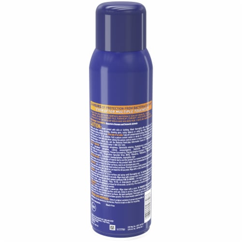 Microban Citrus Scent 24 Hour Sanitizing Spray Perspective: back