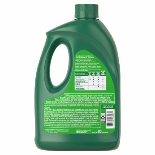 Cascade® Lemon Scent Gel Diswasher Detergent Perspective: back