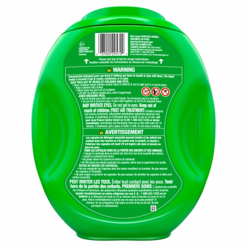 Gain Flings Island Fresh 3-in-1 Laundry Detergent Pacs Perspective: back