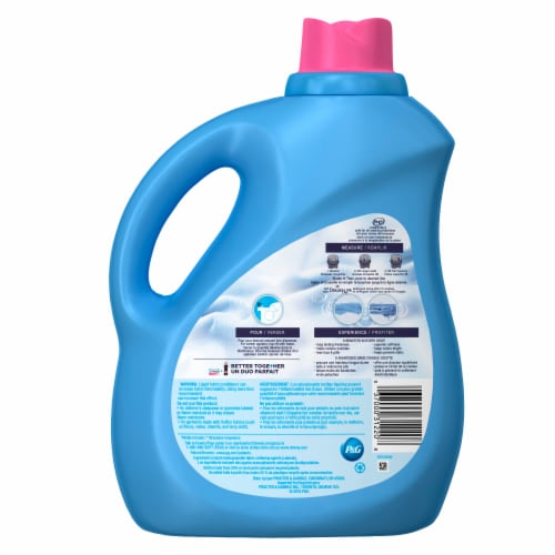 Downy Ultra April Fresh Liquid Fabric Softener Perspective: back