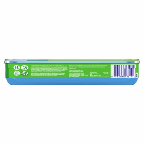 Swiffer Fresh Scent Wet Mopping Cloths Refill Perspective: back