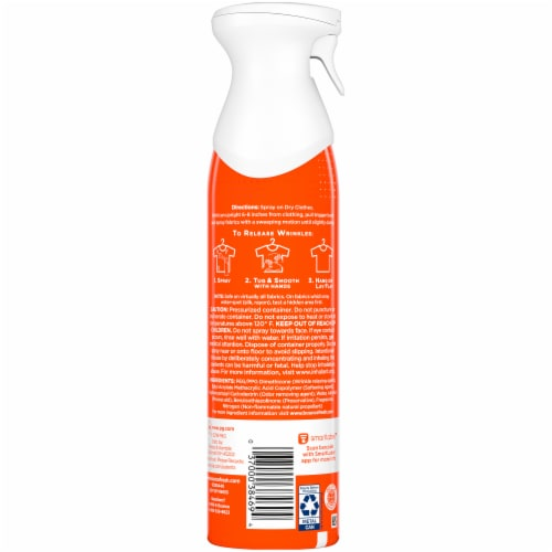 Bounce 3-in-1 Rapid Touch-Up Everyday Clothing Spray Perspective: back