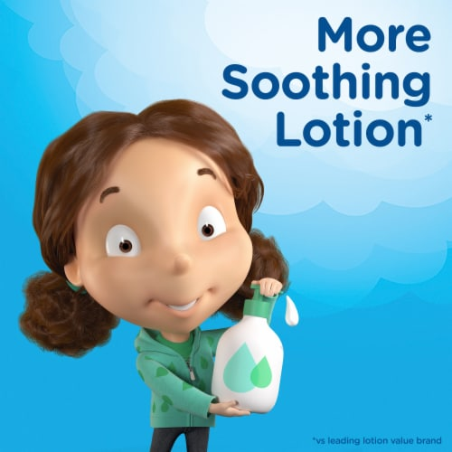 Puffs Plus Lotion Facial Tissues Perspective: back