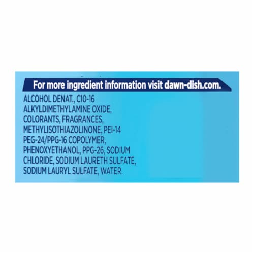 Dawn Ultra Dishwashing Original Scent Liquid Dish Soap Perspective: back