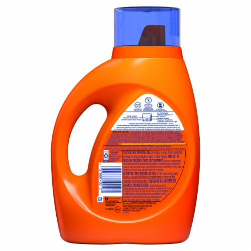Tide Original Liquid Laundry Detergent Perspective: back