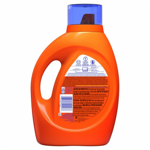 Tide Original Liquid Laundry Detergent Perspective: back