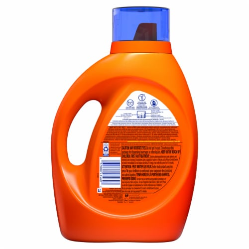 Tide Mountain Spring High Suds Liquid Laundry Detergent Perspective: back