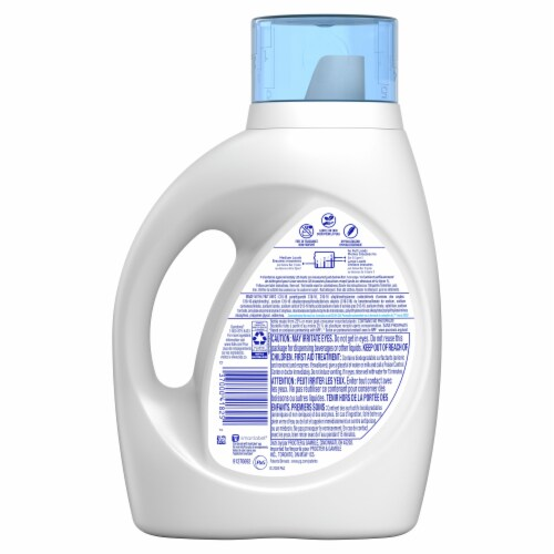 Tide Free & Gentle Liquid Laundry Detergent Perspective: back