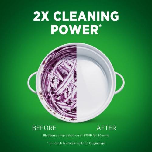 Cascade Complete Citrus Breeze Scent Dishwasher Detergent Gel Perspective: back