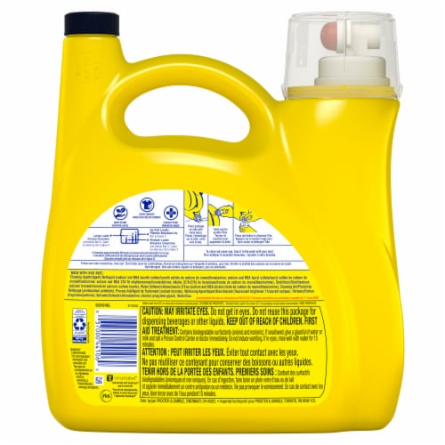 Tide Simply Clean & Sensitive Liquid Laundry Detergent Perspective: back