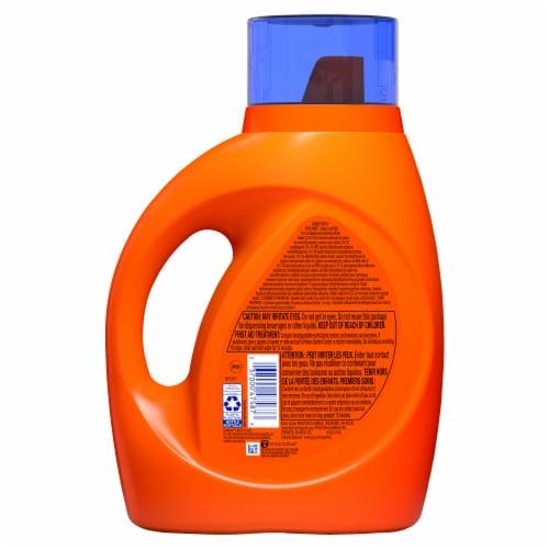 Tide Hygienic Clean Original Heavy Duty Liquid Laundry Detergent Perspective: back