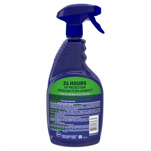Microban Fresh Scent 24 Hour Multi-Purpose Cleaner and Disinfectant Spray Perspective: back