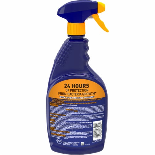 Microban Citrus Scent 24 Hour Bathroom Cleaner Perspective: back