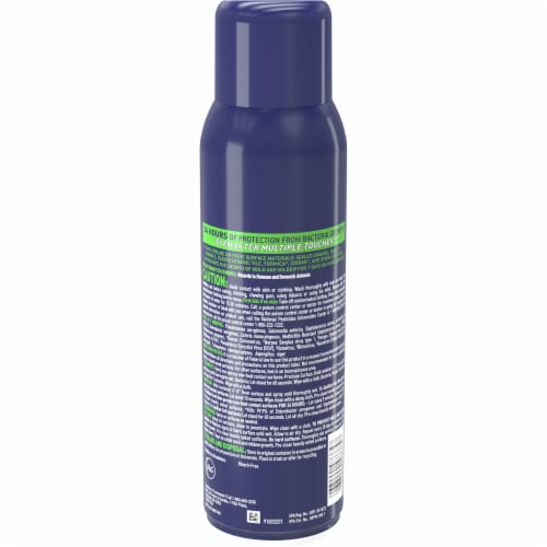 Microban® 24 Hour Fresh Scent Disinfectant Sanitizing Spray Perspective: back