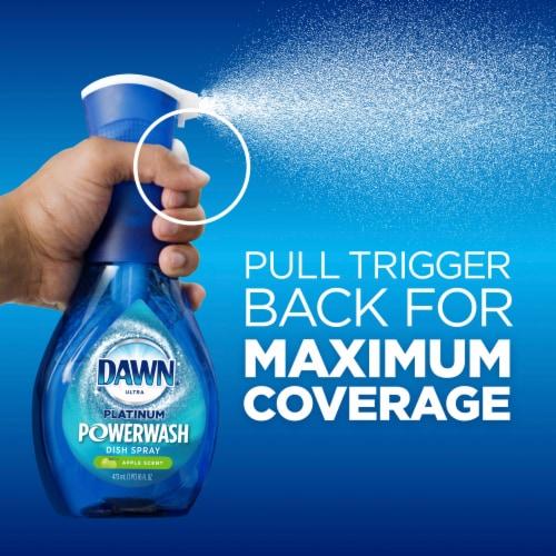 Dawn Ultra Platinum Powerwash Apple Scent Dish Spray Perspective: back
