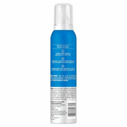Waterless Dry Shampoo Foam Perspective: back
