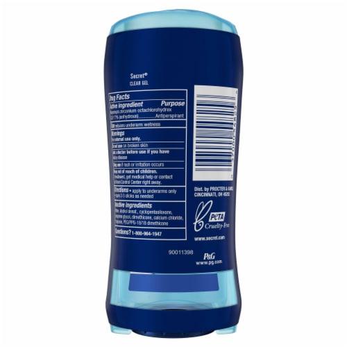 Secret® Outlast Completely Clean Clear Gel Antiperspirant Deodorant Perspective: back