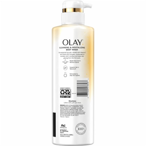 Olay® Cleansing & Brightening Body Wash for Women Perspective: back